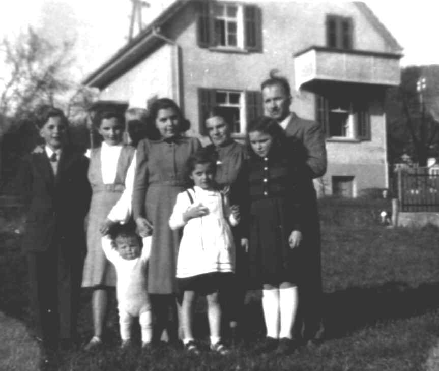 Familie Rene Adolphe Lang